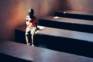 Adrian Kuipers - A Boy Near Lusaka - Medium Resolution