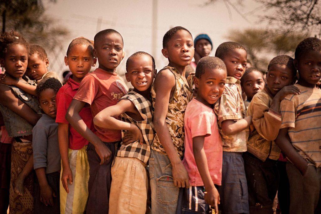 Adrian Kuipers - Children Of Namibia #2 - Medium Resolution