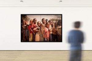 Adrian Kuipers - Children Of Namibia #2 - Limited Gallery Edition - Preview 1