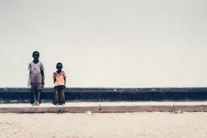 Adrian Kuipers - Two Boys From Zambia - Medium Resolution
