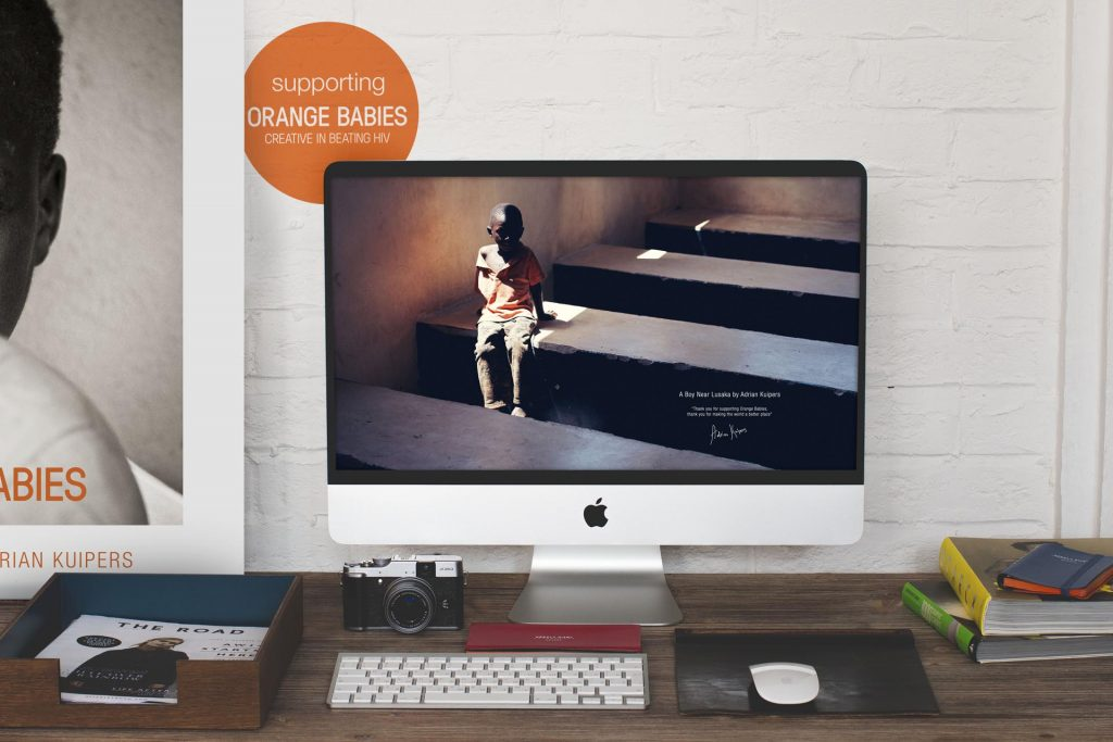 Adrian Kuipers - A Boy Near Lusaka - Desktop Wallpaper - Preview