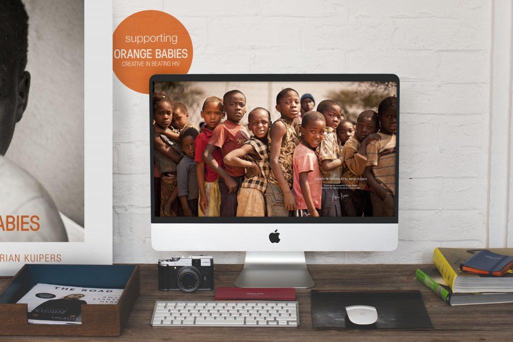 Adrian Kuipers - Children Of Namibia #2 - Desktop Wallpaper - Preview