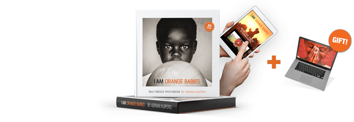 Photobook i am orange babies by Adrian Kuipers