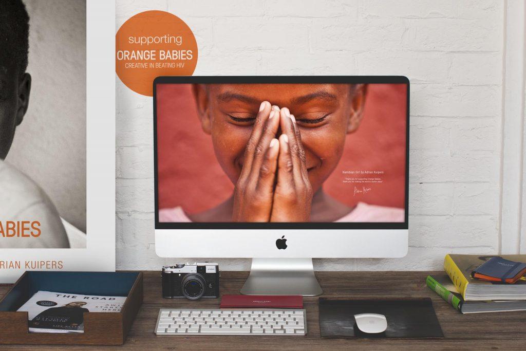 Adrian Kuipers - Namibian Girl - Desktop Wallpaper - Preview