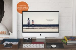 Adrian Kuipers - Two Boys From Zambia - Desktop Wallpaper - Preview
